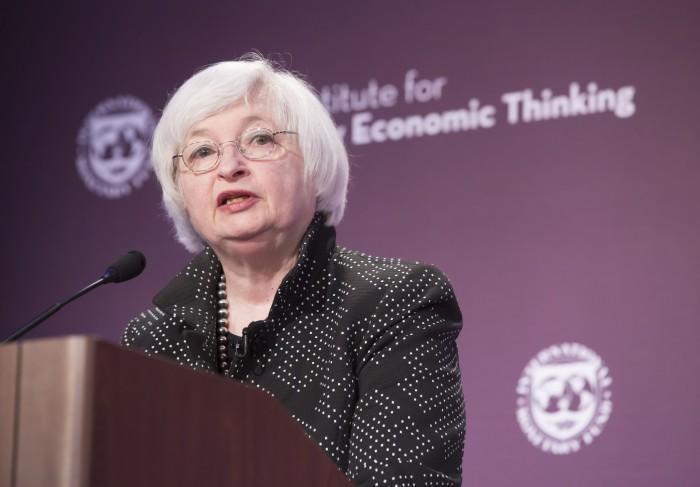 Fed Chairwoman Janet Yellen